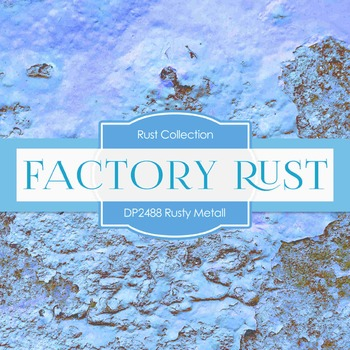 Digital Papers -  Rusty Metal (DP2488)