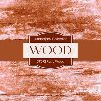 Digital Papers - Rusty Wood (DP092)