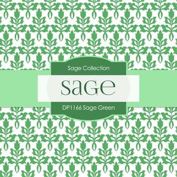 Digital Papers - Sage Green (DP1166)
