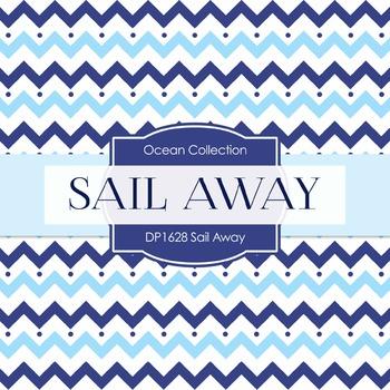 Digital Papers - Sail Away (DP1628)