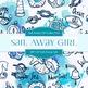 Digital Papers - Sail Away Girl (DP1167)