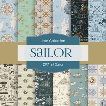 Digital Papers - Sailor (DP7169)