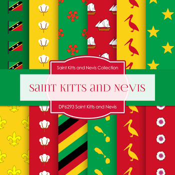 Digital Papers - Saint Kitts and Nevis (DP6293)