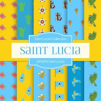 Digital Papers - Saint Lucia (DP6294)