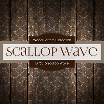 Digital Papers - Scallop Wave (DP6315)