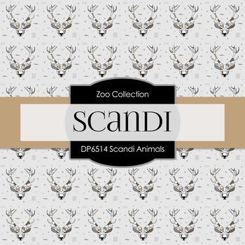 Digital Papers - Scandi Animal (DP6514)