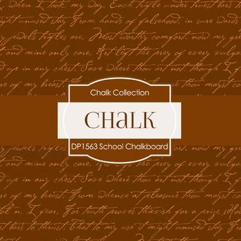 Digital Papers - School Chalkboard (DP1563)