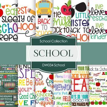 Digital Papers - School (DW034)