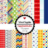 Digital Papers SchoolSupplies