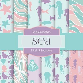 Digital Papers - Seahorse (DP4917)