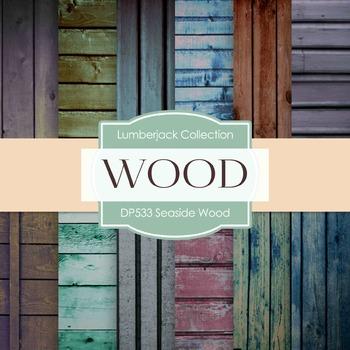 Digital Papers - Seaside Wood  (DP533)