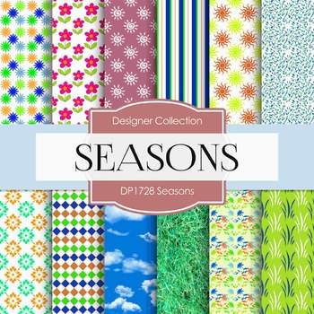 Digital Papers - Seasons (DP1728)