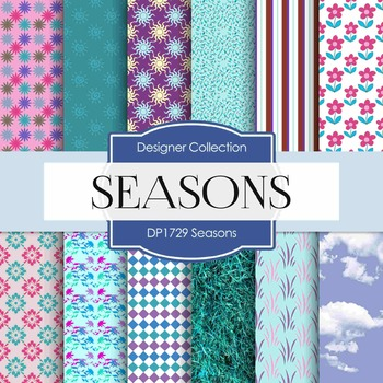 Digital Papers - Seasons (DP1729)