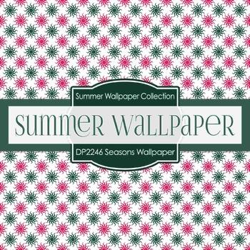 Digital Papers - Seasons Wallpaper (DP2246)
