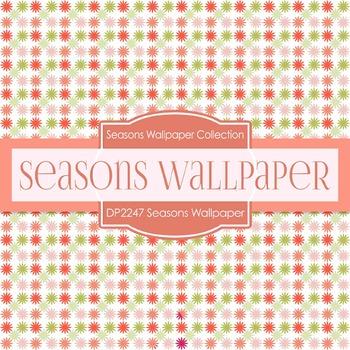 Digital Papers - Seasons Wallpaper (DP2247)