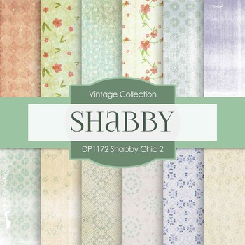 Digital Papers - Shabby Chic 2 (DP1172)