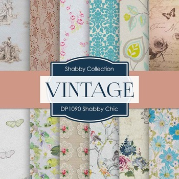 Digital Papers - Shabby Chic (DP1090)