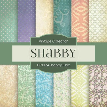 Digital Papers - Shabby Chic (DP1174)