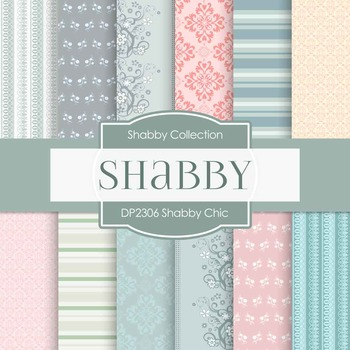 Digital Papers - Shabby Chic (DP2306)