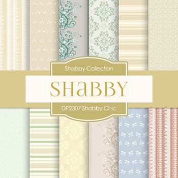 Digital Papers - Shabby Chic (DP2307)