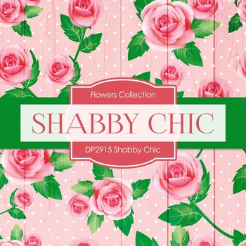 Digital Papers - Shabby Chic (DP2915)