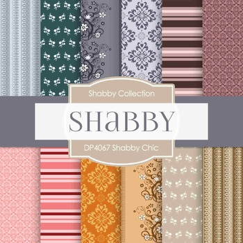 Digital Papers -  Shabby Chic (DP4067)