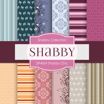 Digital Papers -  Shabby Chic (DP4069)
