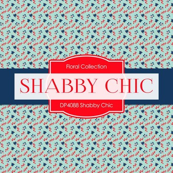 Digital Papers - Shabby Chic (DP4088)