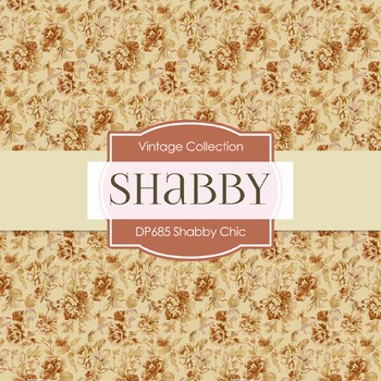 Digital Papers -  Shabby Chic (DP685)
