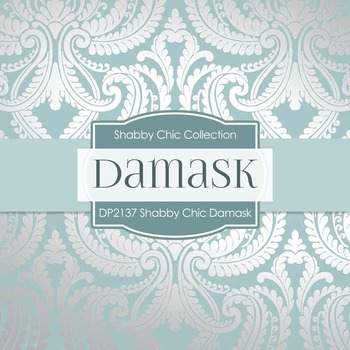 Digital Papers - Shabby Chic Damask (DP2137)