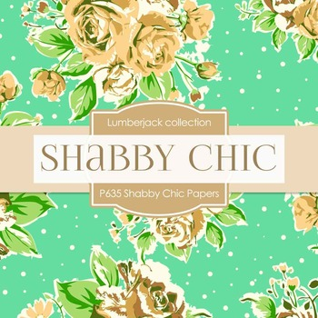 Digital Papers - Shabby Chic Papers (DP635)