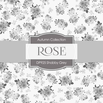 Digital Papers - Shabby Grey (DP925)
