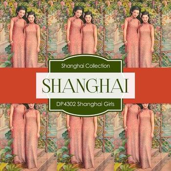 Digital Papers - Shanghai Girls (DP4302)