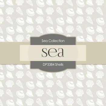 Digital Papers -  Shells (DP3384)