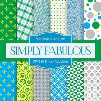 Digital Papers - Simply Fabulous (DP4164)