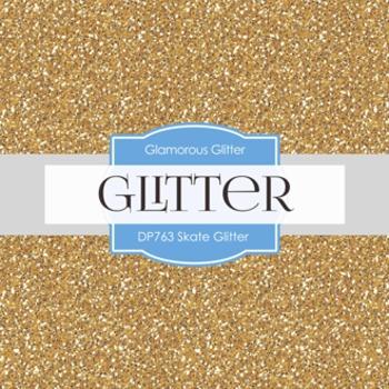 Digital Papers - Skate Glitter  (DP763)