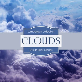 Digital Papers - Skies Clouds (DP646)