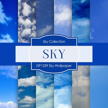 Digital Papers - Sky Wallpaper (DP1339)