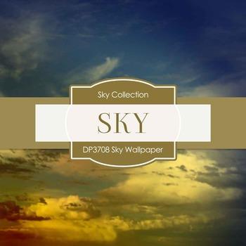 Digital Papers - Sky Wallpaper (DP3707)