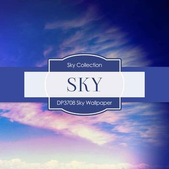 Digital Papers - Sky Wallpaper (DP3708)