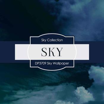 Digital Papers - Sky Wallpaper (DP3709)