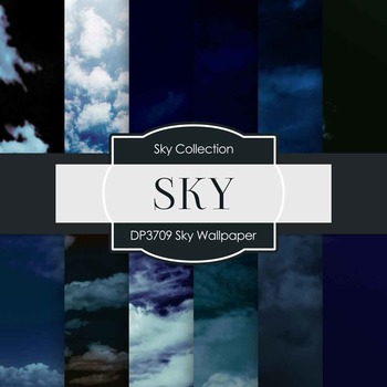 Digital Papers - Sky Wallpaper (DP3709)