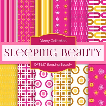 Digital Papers - Sleeping Beauty (DP1857)