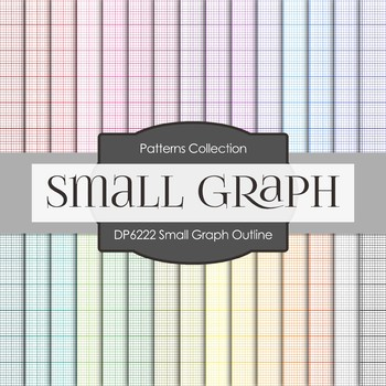 Digital Papers - Small Graph Outline (DP6222)
