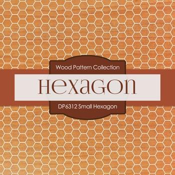 Digital Papers - Small Hexagon (DP6312)