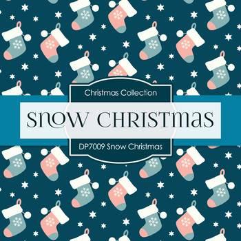 Digital Papers - Snow Christmas (DP7009)