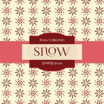Digital Papers - Snow (DP4958)