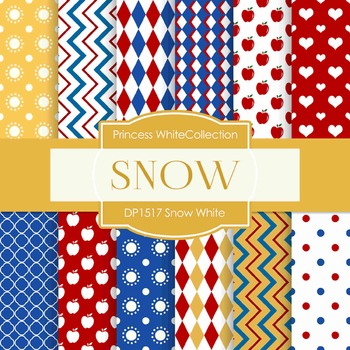 Digital Papers - Snow White (DP1517)