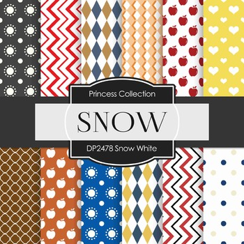 Digital Papers -  Snow White (DP2478)
