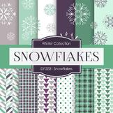Digital Papers - Snowflakes (DP2031)